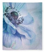 Shades Of Blue Fleece Blanket
