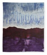 Shades Of New Mexico Original Painting Fleece Blanket
