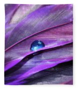 Shades Of Purple Fleece Blanket