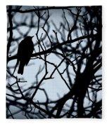 Shadow Among The Shadows Fleece Blanket