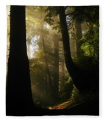 Shadow Dreams Fleece Blanket