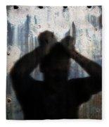 Shadow Of A Man Fleece Blanket