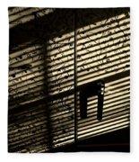 Shadow Patterns Fleece Blanket