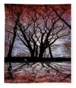 Shadow Secrets Fleece Blanket