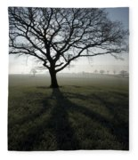 Shadow Tree Fleece Blanket