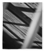 Shadows Of Carpentry Fleece Blanket