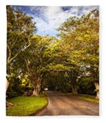 Shady Lane Fleece Blanket