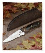 Shady Oak Knife-faa Fleece Blanket