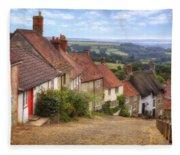 Shaftesbury - England Fleece Blanket
