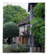 Shakespeare's Back Garden Fleece Blanket