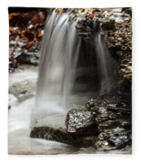 Shale Creek Waterfall Fleece Blanket