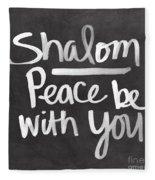 Shalom Fleece Blanket