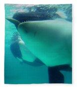 Shamu Was  1965-1971 Orca Sea World California 1968 Fleece Blanket
