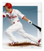 Shane Victorino Fleece Blanket