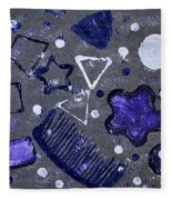 Shape From The Series The Elements And Principles Of Art Fleece Blanket
