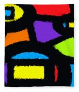 Shapes 13 Fleece Blanket