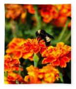 Sharing The Nectar Of Life 02 Fleece Blanket
