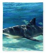 Shark In Depth Fleece Blanket