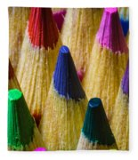 Sharpened Color Fleece Blanket