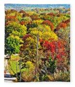 Shawnee Hill  Fleece Blanket