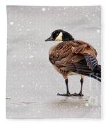 Shawnee Park Geese Fleece Blanket