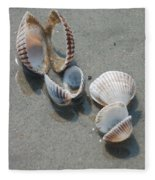 She Sells Sea Shells Fleece Blanket