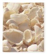 She Sells Seashells Fleece Blanket