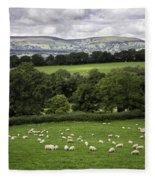 Sheep And More Sheep Fleece Blanket