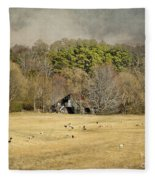 Sheep In The South Fleece Blanket