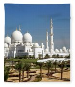 Sheikh Zayed Bin Sultan Al Nahyan Grand Fleece Blanket