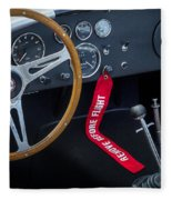 Shelby Cobra Fleece Blanket