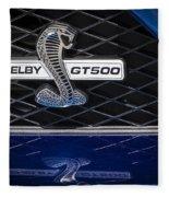 Shelby Gt 500 Fleece Blanket