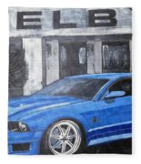 Shelby Mustang Fleece Blanket