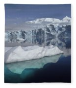 Sheldon Glacier Fleece Blanket