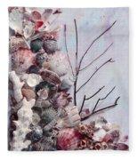 Shell Bouquet  No 6 Fleece Blanket