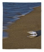 Shell By The Shore Fleece Blanket