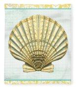Shell Finds-a Fleece Blanket