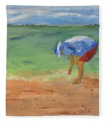 Shell Game Fleece Blanket