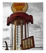 Shell Invisible Pump Color Fleece Blanket