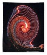 Shell Swirl Fleece Blanket