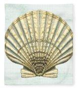 Shell Treasure-a Fleece Blanket