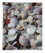 Shells On Treasure Island Fleece Blanket