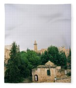 Historic Jerusalem Fleece Blanket
