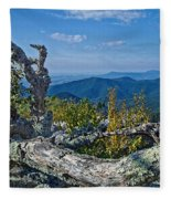 Shenandoah Vista Fleece Blanket