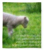 Shepherd Fleece Blanket