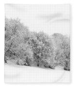 Sherman's Wood Fleece Blanket