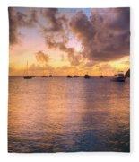 Sherri's Sunset Fleece Blanket