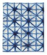 Shibori Iv Fleece Blanket