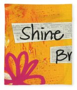Shine Bright Fleece Blanket