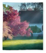 Shine The Light On Me Square Fleece Blanket